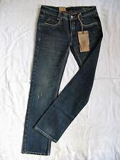 Tribeca Damen Blue Jeans Japan Denim W28/L34 low waist regular fit straight leg