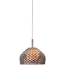 Flos Tatou S2 Large Pendant Shade designed by Patricia Urquiola, Ochre RRP £406