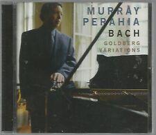 Bach Goldberg Variations Murray Perahia CD 2000 Sony/BMG