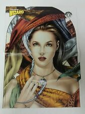 Wizard Comic Book Magazine 2 Sided Poster Aria Avalon + The Savage Dragon 1999