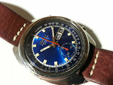 ORIGINALE Seiko 6139-6012 Royal Blue Cronografo MADE IN JAPAN ANNO 1974