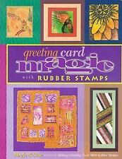 Greeting Card Magic with Rubber Stamps, McGraw, Mary Jo, Good Book