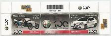 REPUBBLICA ITALIANA - 2010 Alfa Romeo con codice a barre 1315