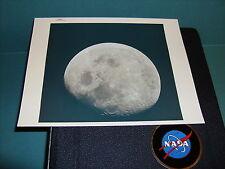 NASA APOLLO 8 VIEW OF MOON VINTAGE PHOTO RED SERIAL #AS8-14-2506