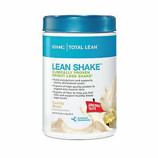 GNC TOTAL LEAN LEAN SHAKE PROTEIN VANILLA BEAN 1.7LB MEAL REPLACEMENT PROTEIN