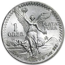 1983 1 oz Silver Mexican Libertad Coin