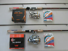 DAIWA CROSSFIRE SPINNING ROD & SPINNING REEL 2000 & SPECTRA LINE COMBO 3