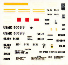 TAMIYA Decal  pour 35123 1/35 U.S. M151A2 Ford Mutt