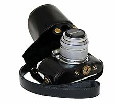 PU Leather Case Bag Cover For Olympus Pen E-PL7 with 14-42mm Lens