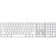 Apple Keyboard Wired with Numeric Keypad - US English