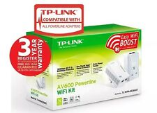 TP-LINK TL-WPA4226KIT V1.2 300Mbps AV600 Wireless Powerline Adapter Kit