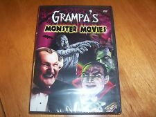 GRAMPA'S MONSTER MOVIES Munsters Al Lewis Classic Horror Movie Trailers DVD NEW