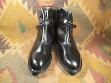 NEW Thorogood by Weinbrenner Black Leather Military Jodhpur Boots size 10C