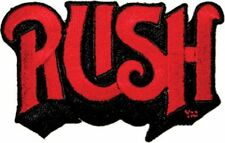 RUSH LOGO - EMBROIDERED PATCH - BRAND NEW - MUSIC BAND 1419