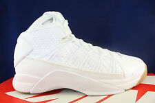NIKE HYPERDUNK LUX SZ 11 WHITE GUM LIGHT BROWN 818137 100
