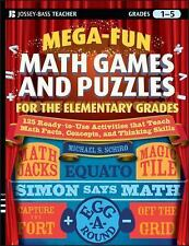 Mega-Fun Math Games and Puzzles for the Elementary Grades: Over 125 Activities t