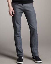 Naked & Famous Gray Skinny Guy Stretch Selvedge Jeans Sz 30