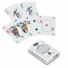 ROYAL 100% Plastic Playing Card Poker Jumbo Index Silver