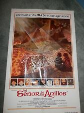 Ralph Bakshi Lord of the Rings 1SH One Sheet Original Vintage Poster 27x41