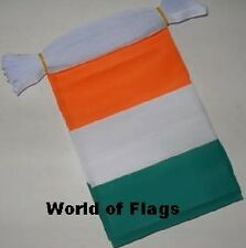 IVORY COAST BUNTING 9m 30 Polyester Fabric Ivorian Party Flags Africa African