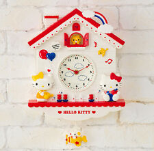 Hello Kitty Decorative Pendulum Wall Clock KK884