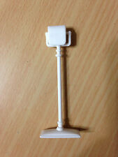 2006 Barbie Doll My Home Bathroom Toilet Paper Holder Stand House Accessory