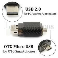 32GB USB 2.0 Dual Port Pen Drive Flash Memory Stick Thumb Disk For OTG Phone PC