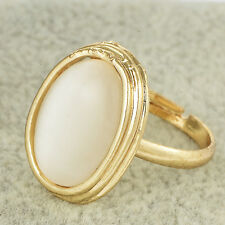 fashion mens rings 18k gold filled vintage opal womens love ring size 7 lucky