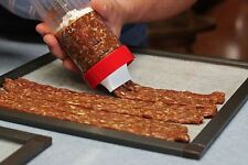 Nesco Works Homemade Jumbo Meat Beef Jerky Maker Gun and Spices Seasoning Kit