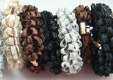 3p Women elastic hair ties Scrunchie Ponytail Holder Hair Accessories Random d1