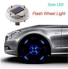 Shizak 12 LED Solare Flash Luce Ruota 4 modalità di colore per Auto Veicolo Auto DECORA