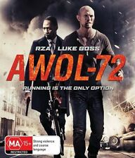 AWOL-72 (Blu-ray, 2015)EX RENTAL DISC ONLY CAN POST 4 DISCS FOR $1.40