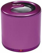 Rollei ML-100 Mobiler Bluetooth Mini-Lautsprecher Speaker PINK