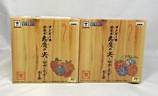 ONE PIECE Devil Fruits Figure Set of 2 Box Winter Gift A & B Luffy Ace Law teach