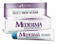 NEW Mederma Advanced Scar Gel .7 oz Tube