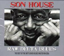 SON HOUSE RAW - DELTA BLUES  (NEW SEALED 2CD)