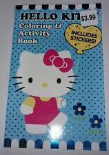 New Hello Kitty Coloring and Activity Book