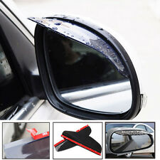 2x New Universal PVC Car Rear View Side Mirror Rain Board Sun Visor Shade Shield