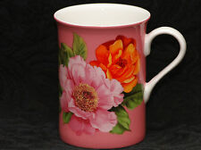 STECHCOL GRACIE FULL BLOOM ROSES Bone China Cylinder Mug