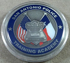 San Antonio Police Training Academy Challenge Coin