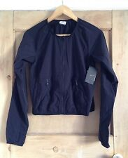 NIKE size S 8 10 Black JACKET TRAINING COVER UP Bnwt RRP £65