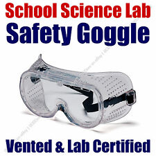 School Science Lab Safety Goggle - Chemistry Biology Physics - Safetygoggle G201