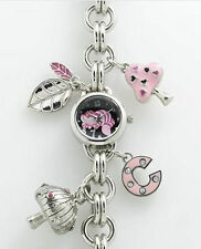 Alice In Wonderland CHESHIRE CAT Charm Bracelet Watch AL2005
