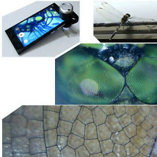 30X Optical Zoom Mobile Phone Microscope Clip Lens For iPhone5 6 S iPad Samsung
