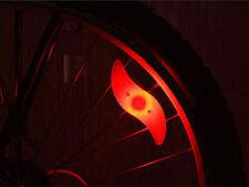 Red Colorful Hot Wheels Bicycle Lamp Spoke LED Mountain bike lights #002
