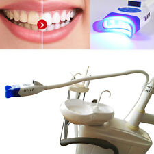 Dental LED Cool Light Lamp Teeth Whitening System Bleaching Accelerator +2 Glass