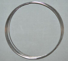 Remembrance Bright Silver RING Memory Wire 49 Coils Jewelry Beading Craft Design