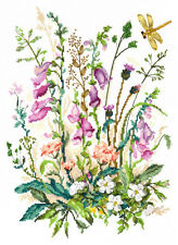 Cross Stitch Kit Wild flowers