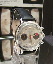 60'S VINTAGE ANKRA 75 SS VALJOUX 7733 CHRONOGRAPH WATCH SERVICED MINTY DIAL