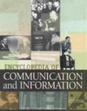 Encyclopedia of Communication and Information (3 Volume Set)